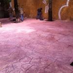 Limpieza de Concreto Estampado SMA antes de Sellar